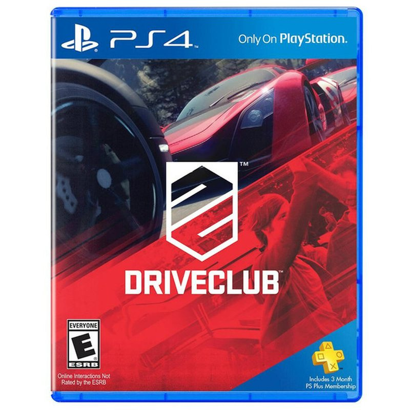 DriveClub Video Game for PlayStation 4