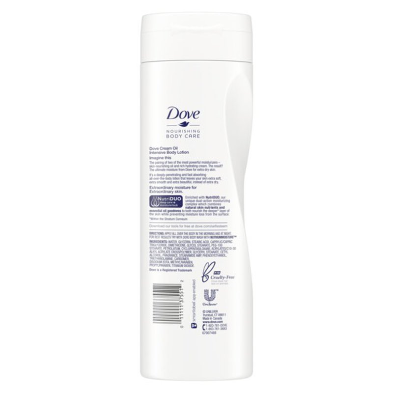 Dove Body Lotion Intensive Extra Dry 13 5 Oz Instacart