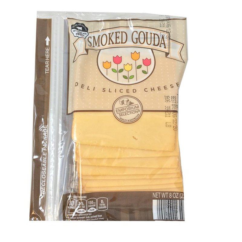 Emporium Selection Deli Sliced Smoked Gouda
