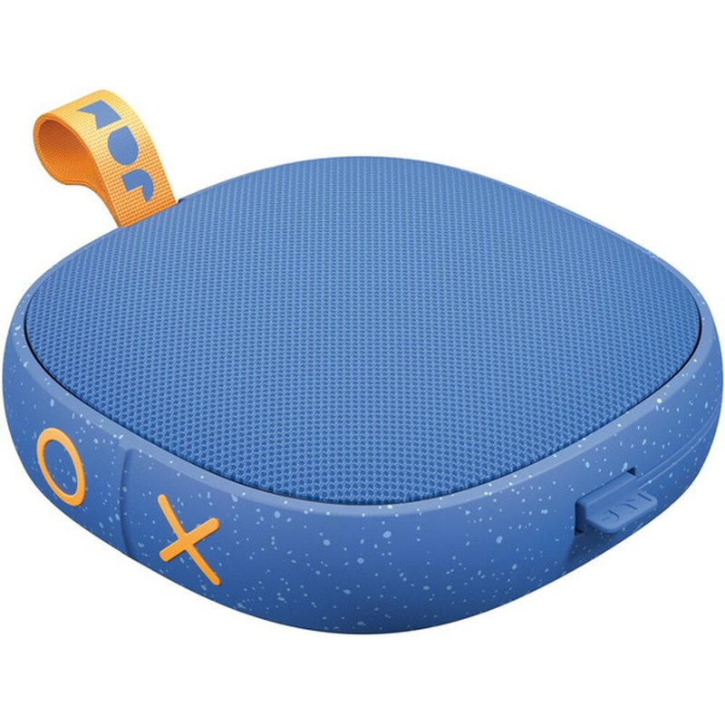 "Jam 5.24"" X 5.2"" Blue Hang Tight Bluetooth Wireless Speaker"