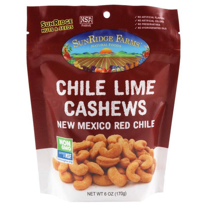 SunRidge Farms Chipotle Lime Chimayo Red Chile Almonds & Cashews