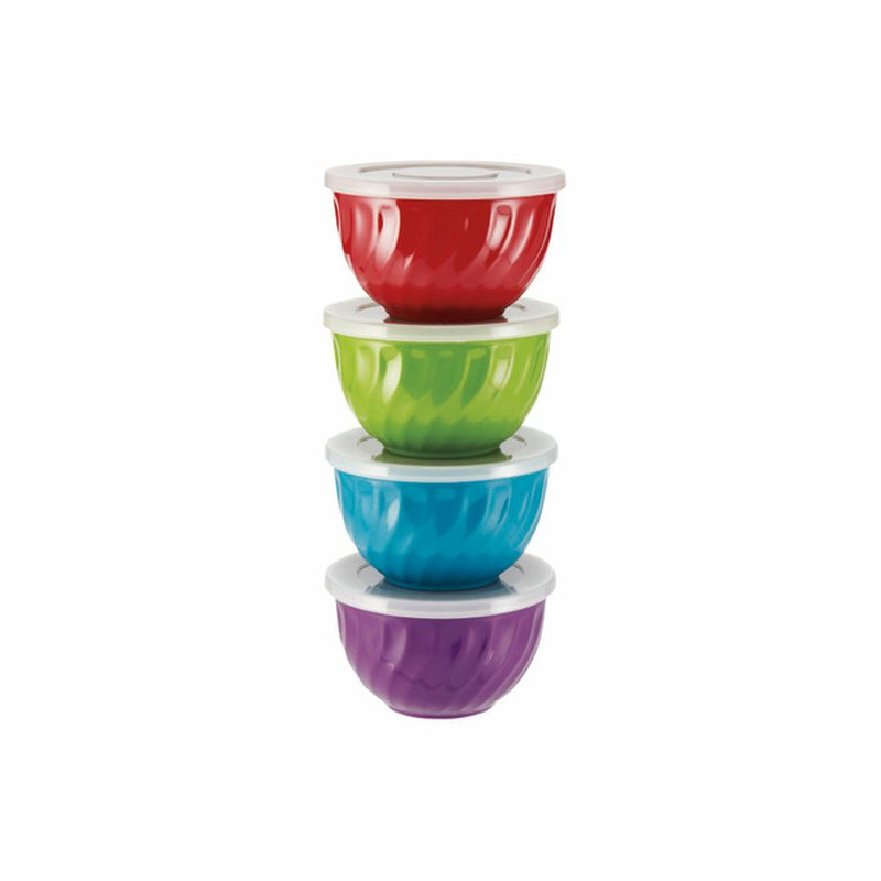 Cocinaware Swirl Prep Bowls With Lids