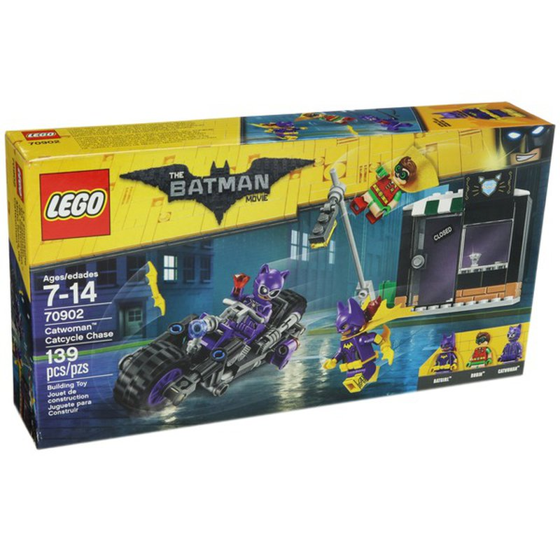 LEGO Catwoman Catcycle Chase Toy