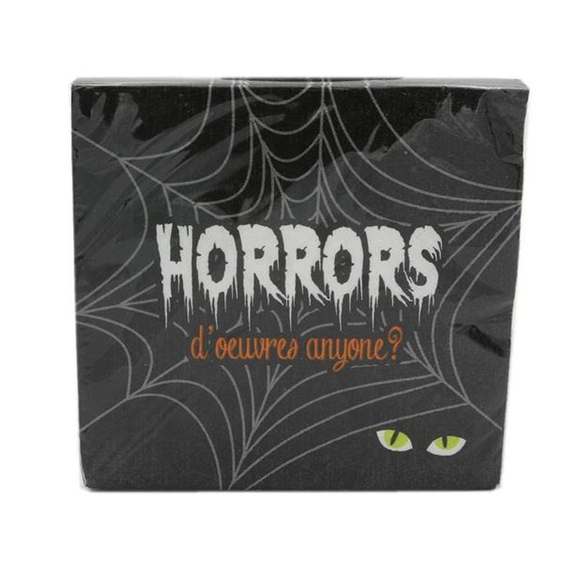 Unique Horrors D'oeuvres Halloween Cocktail Napkins