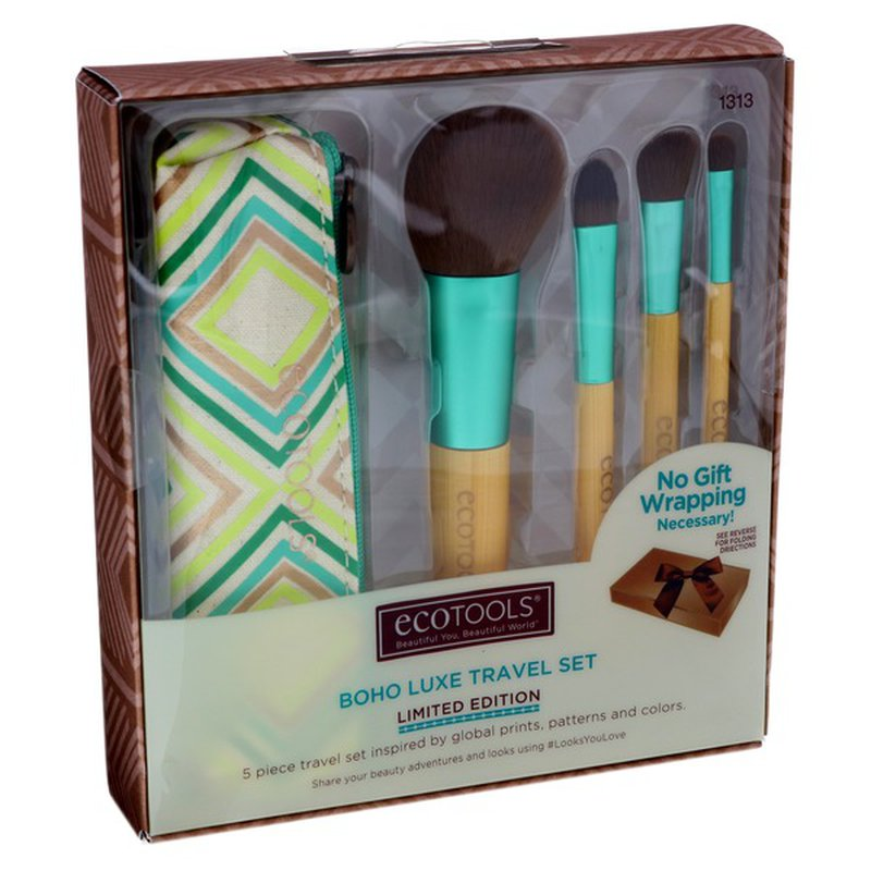 EcoTools Makeup Brush Holiday Travel Set