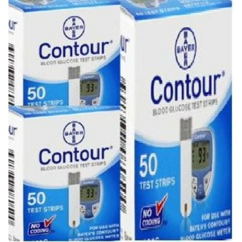 Bayer Contour Blood Glucose Test Strips