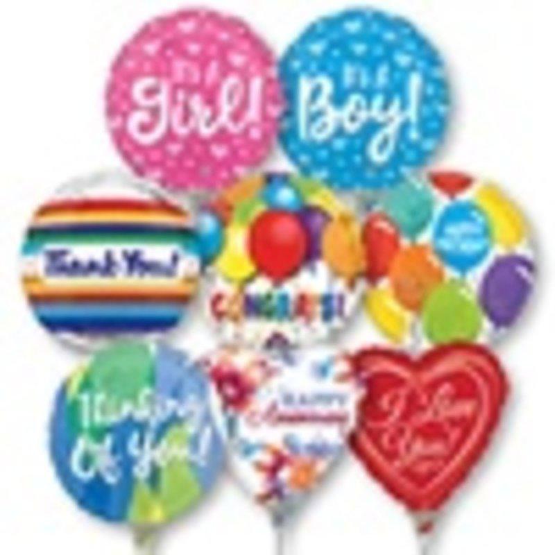 "Garden Statuary 4"" Pre-Inflated Balloon"