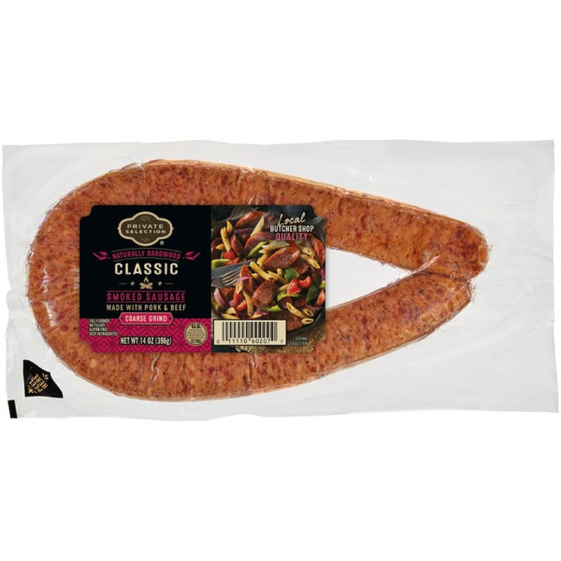 Private Selection Smoked Sausage With Pork & Beef