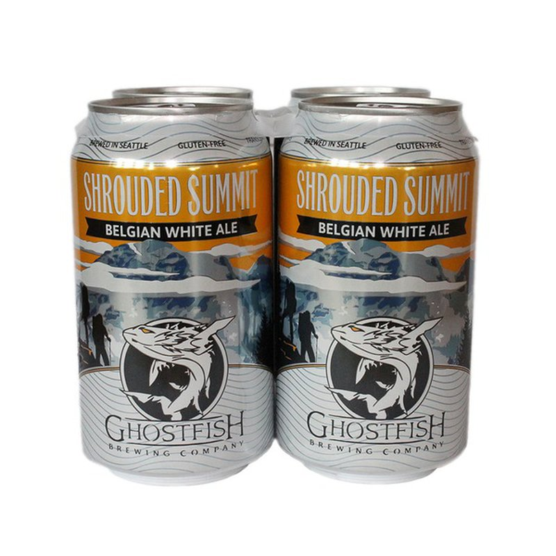 Ghostfish Brewing Company Shrouded Summit Witbier