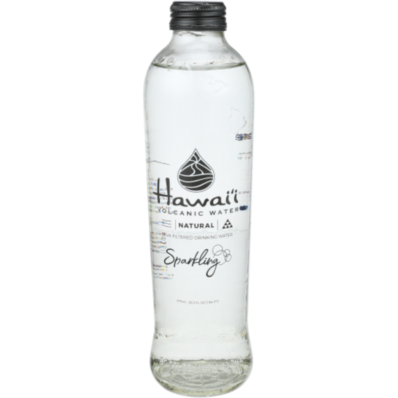 Hawaii VOLCANIC WATER Sparkling NATURAL LAVA FILTERED DRINKING WATER