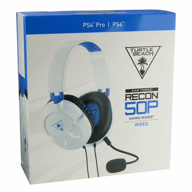 Turtle Beach Recon 50P White Headset for PlayStation 4