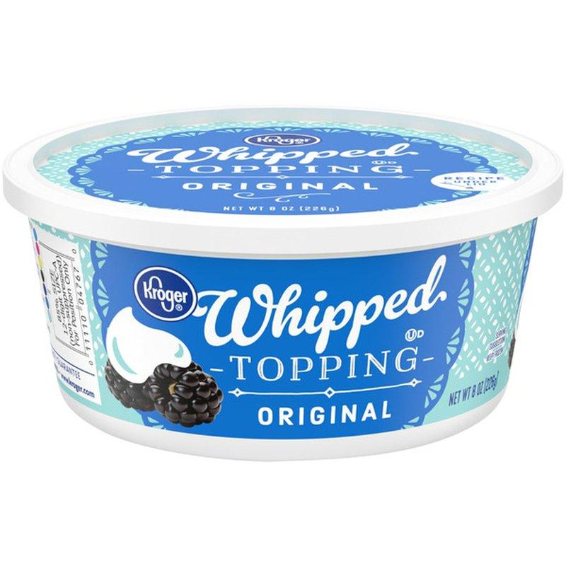 Kroger Whipped Topping, Original