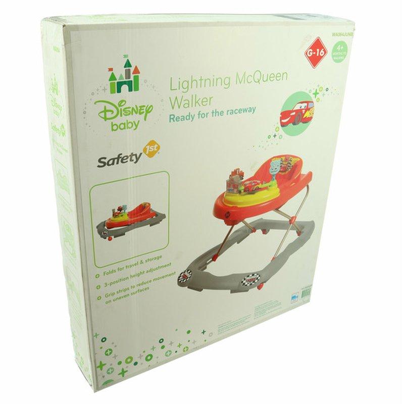 Safety 1st Disney Cars Lightning Mc Queen Walker With Sounds & Lights