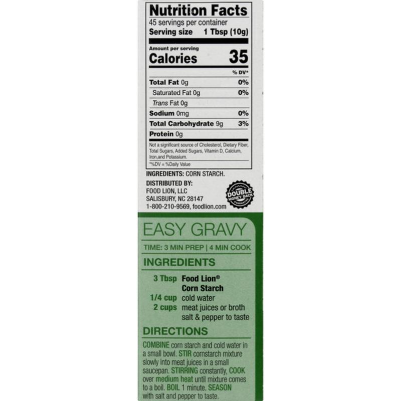Food Lion Corn Starch 16 Oz Instacart