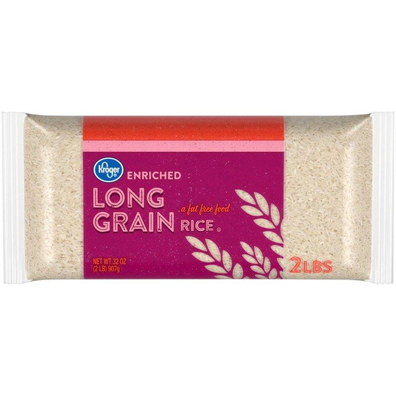 Kroger Enriched Long Grain Rice