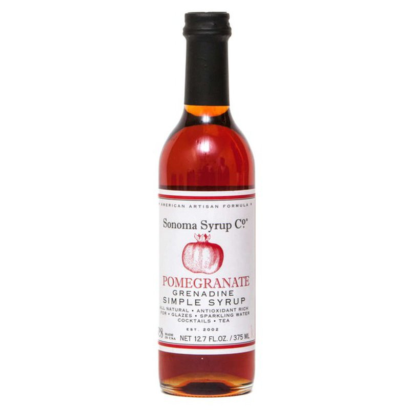 Sonoma Syrup Co Pomegranate Simple Syrup
