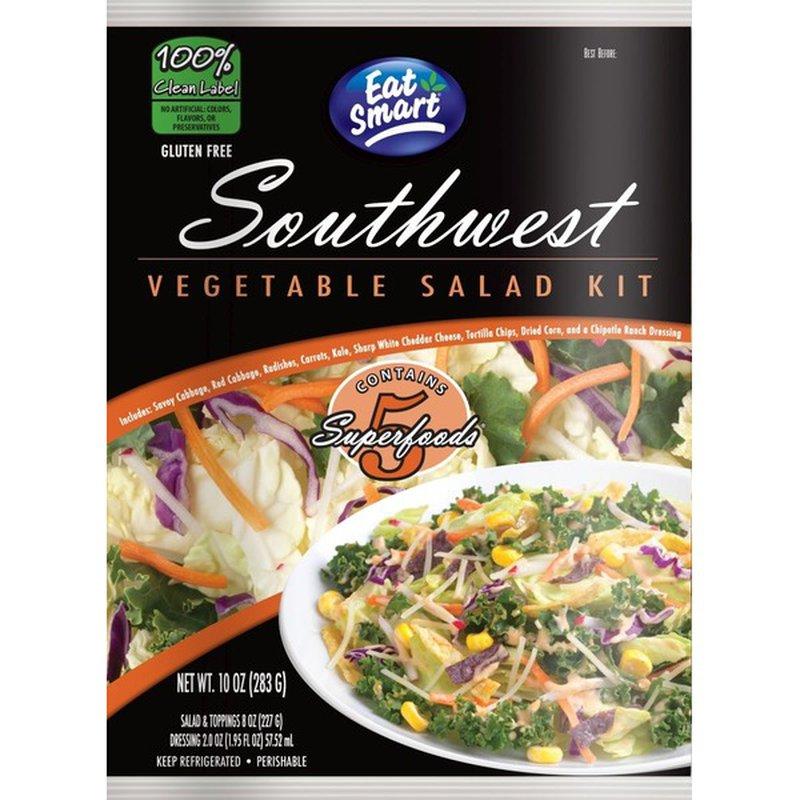 Eat Smart Southwest Vegetable Salad Kit