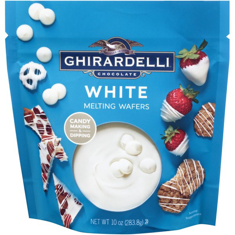 Ghirardelli Chocolate White Melting Wafers (12 oz) from ...