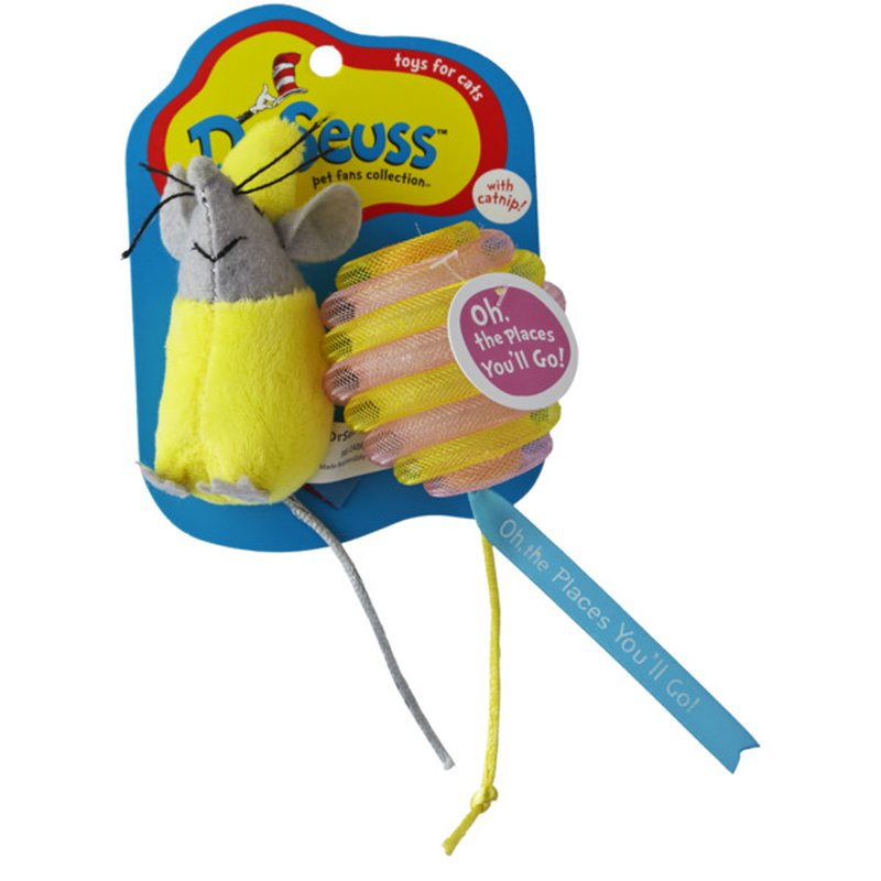 Dr.Seuss Oh! The Places You'll Go! Cat Toy