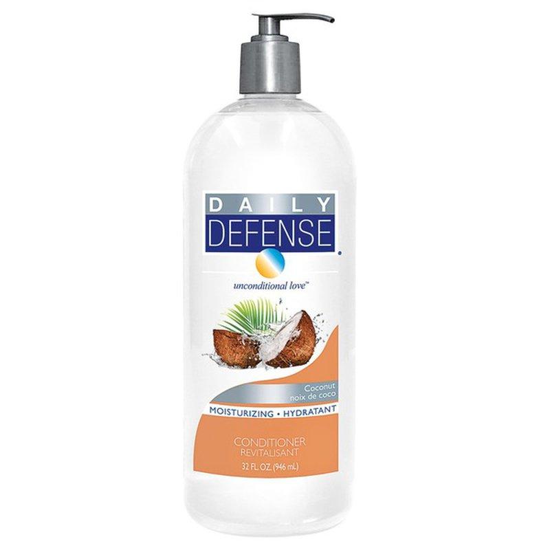 Daily Defense Moisturizing Conditioner, Coconut Oil