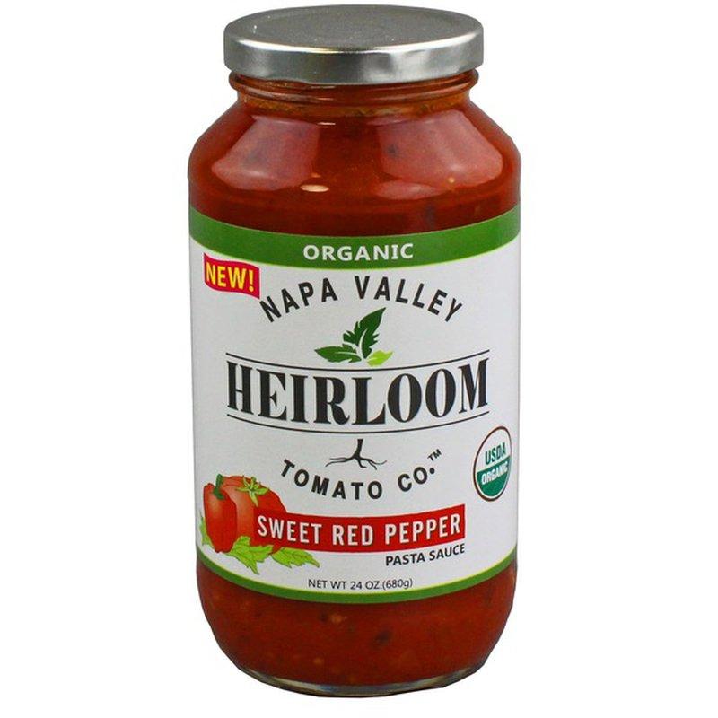 Napa Valley Heirloom Tomato Co. Organic Pasta Sauce