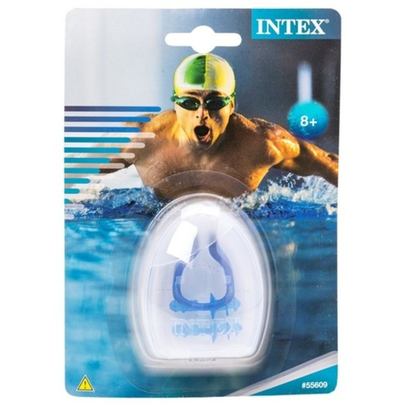 Intex Ear Plugs & Nose Clips With Case Combo