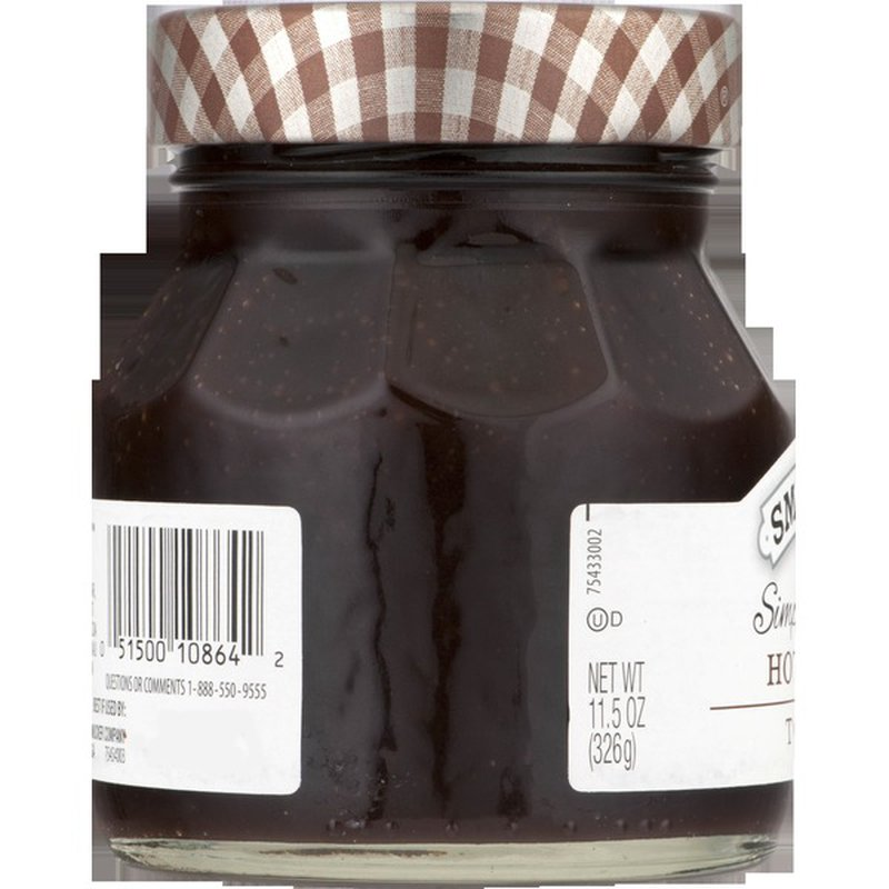Smucker's Topping, Ice Cream, Hot Fudge (11.5 oz) from Cub ...