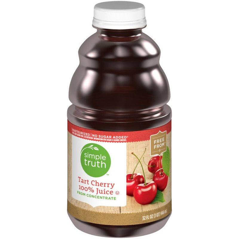Simple Truth Tart Cherry 100% Juice FROM CONCENTRATE