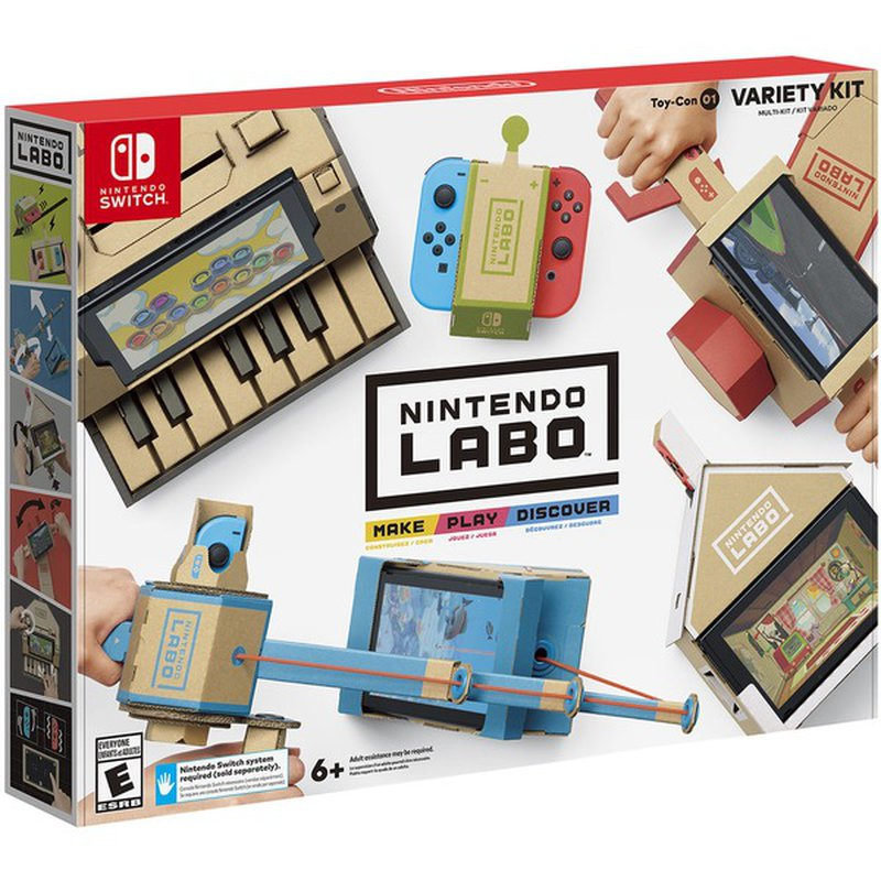 Nintendo Labo Toy-Con 01 Variety Kit Video Game for Nintendo Switch