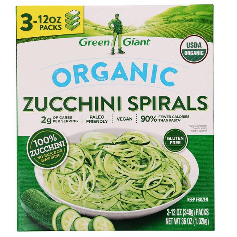 Green Giant Organic Zucchini Spirals, 36 oz