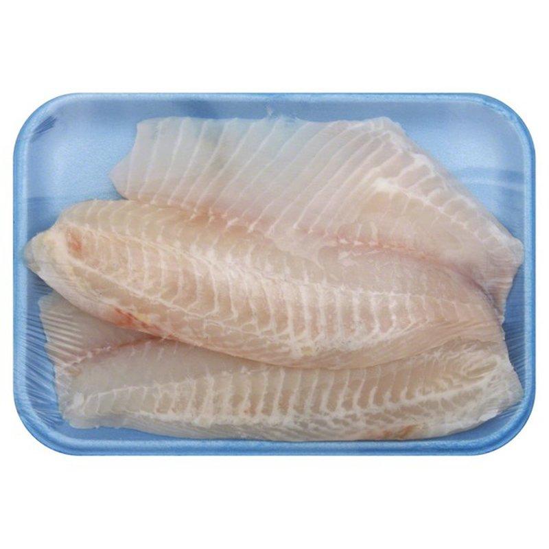 Fish Market Fresh Natural Tilapia Fillet