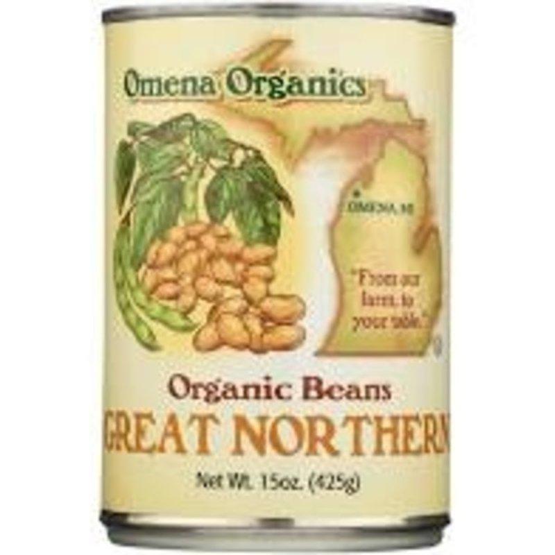 Omena Organics Great Northern Organic Beans