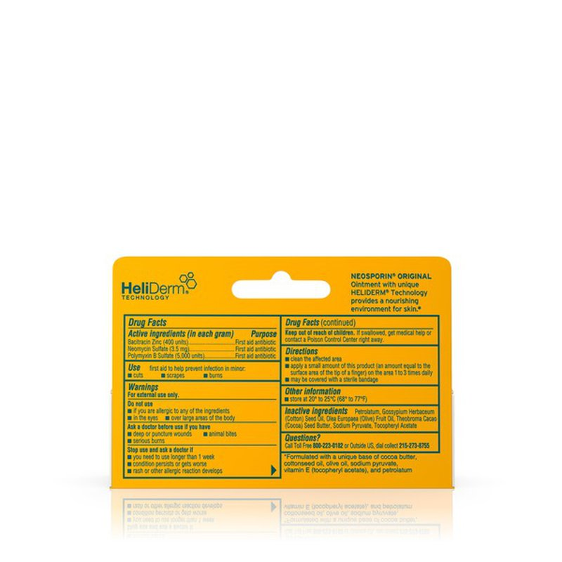 Neosporin Original Ointment (0.5 oz) from Giant Food ...