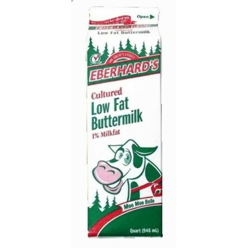 Eberhard's Dairy Cultured 1% Low Fat Buttermilk