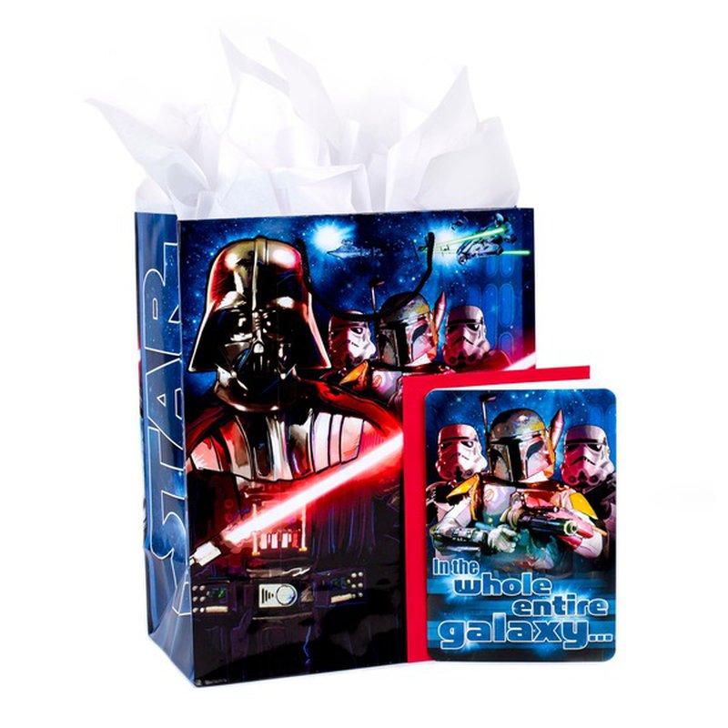 Hallmark Star Wars Birthday Gift Bag with Card & Tissue