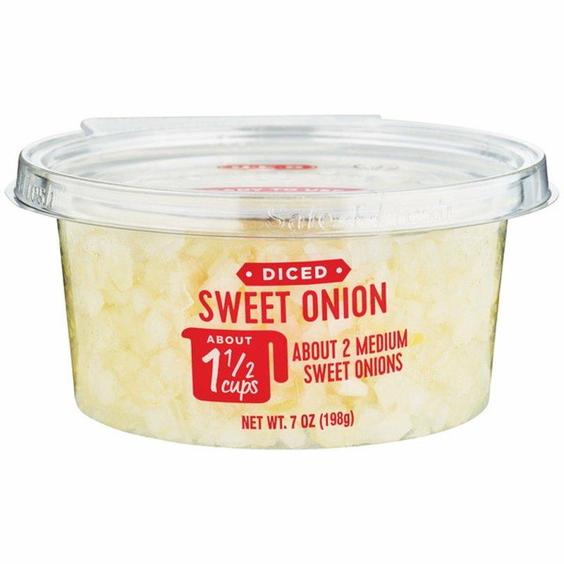 H-E-B Ready, Fresh, Go! Diced Sweet Onions