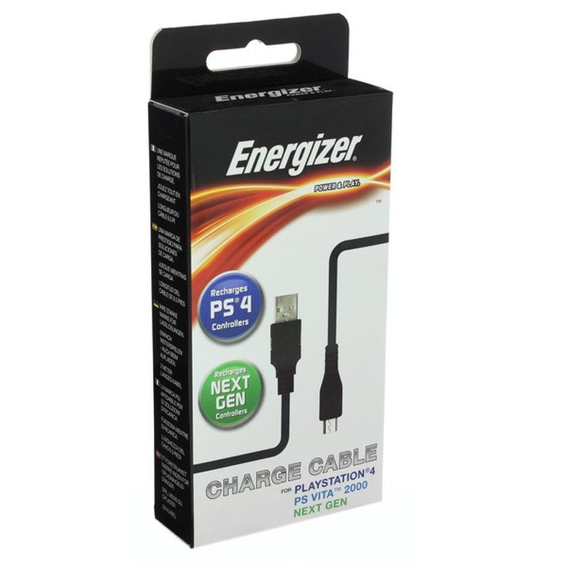 Energizer Charging Cable for Playstation 4