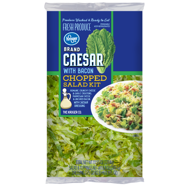 Kroger Caesar With Bacon Chopped Salad Kit