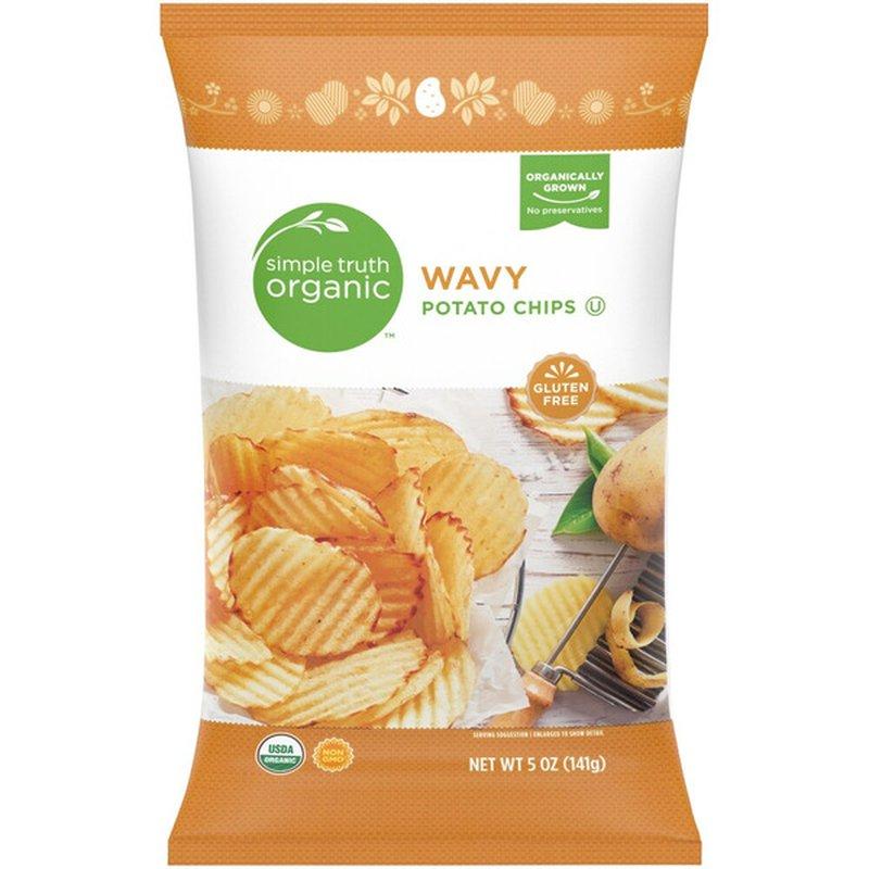 Simple Truth Organic Wavy Potato Chips