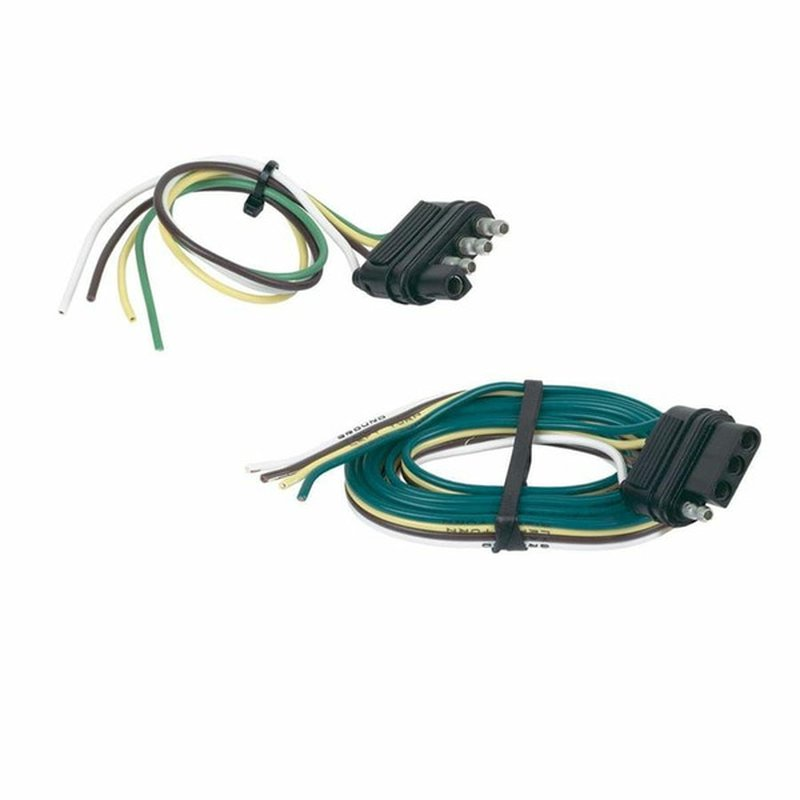 Hopkins 4 Wire Way Flat Trailer Connector Set