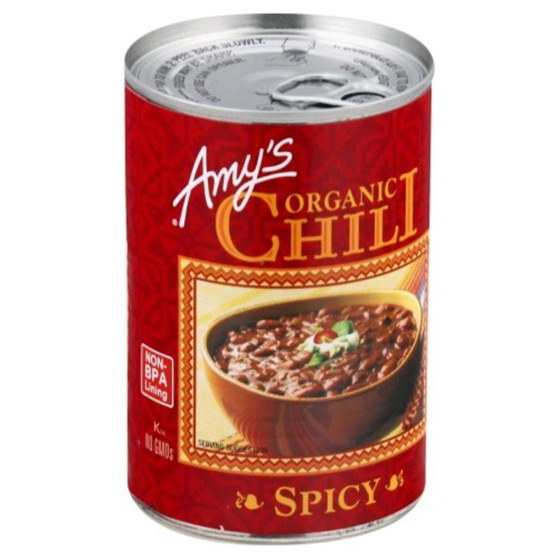 Amy's Organic Spicy Chili, Gluten free, Vegan, 14.7 oz.