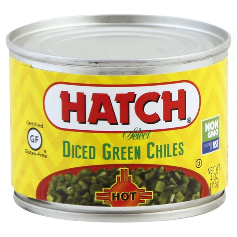 Hatch Green Chiles Hot Dice (4 oz) from Price Chopper - Instacart