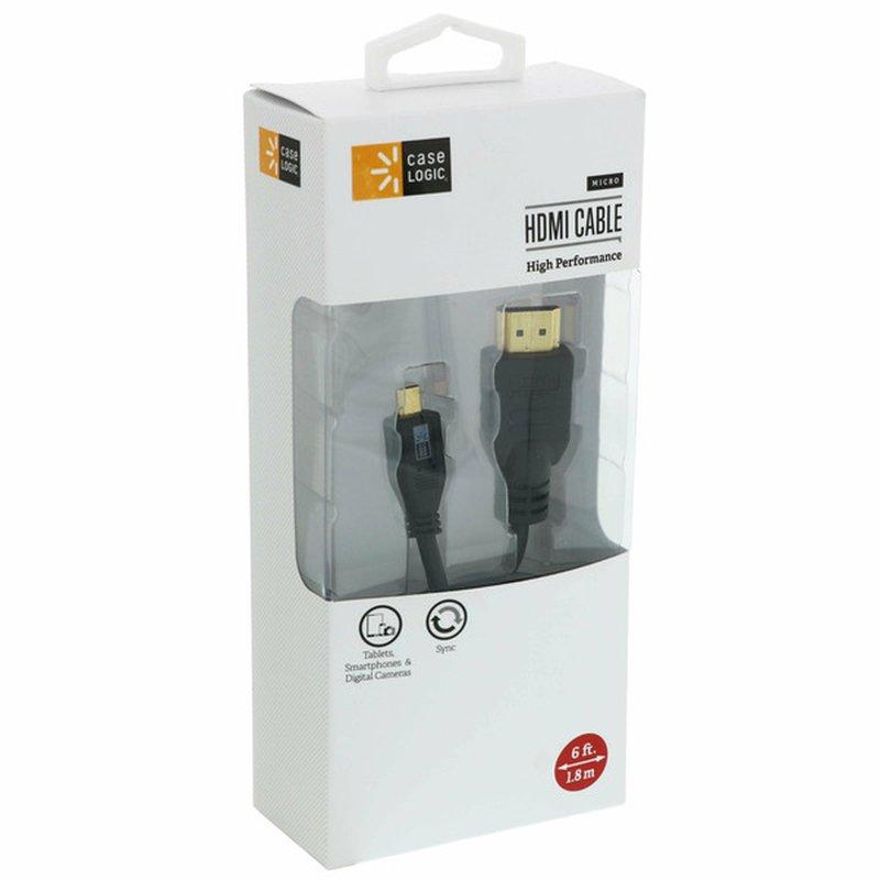 Case Logic 6' HDMI Cable