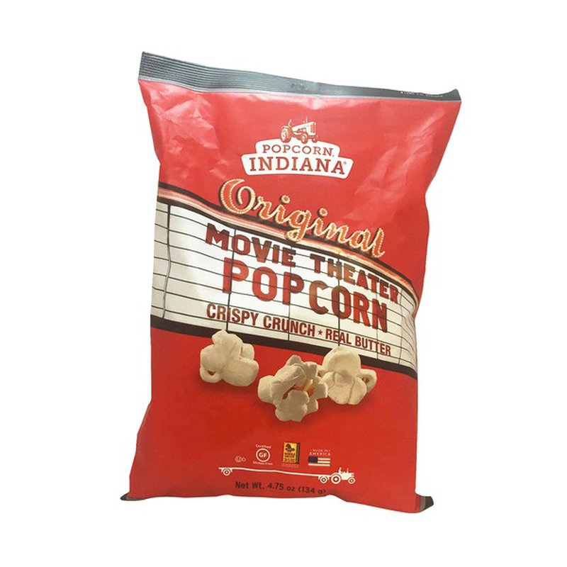 Popcorn Indiana All Natural Movie Theater Popcorn 5 5 Oz Instacart