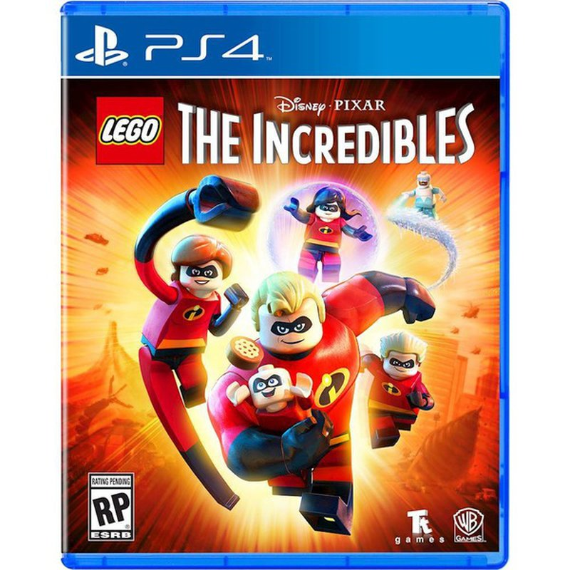 LEGO Disney Pixar The Incredibles Video Game for PS4