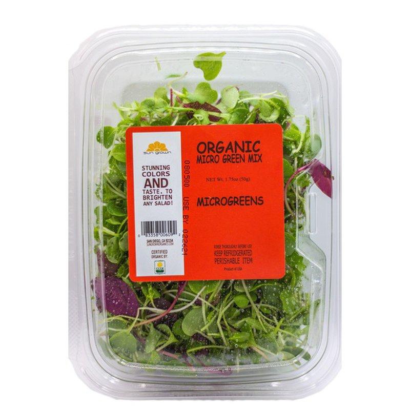 Sun Grown Organic Micro Greens