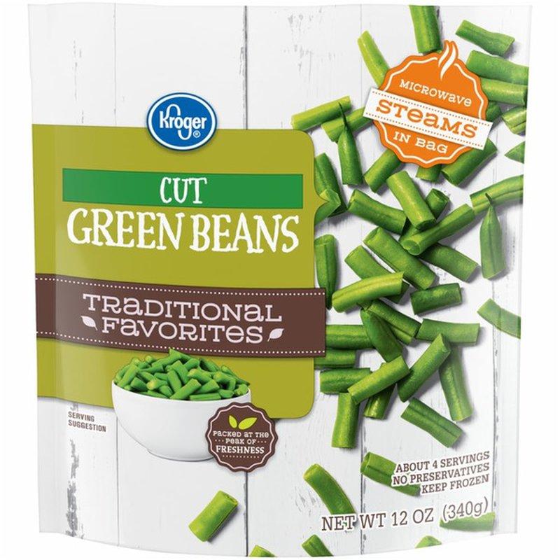 Kroger Green Beans, Cut