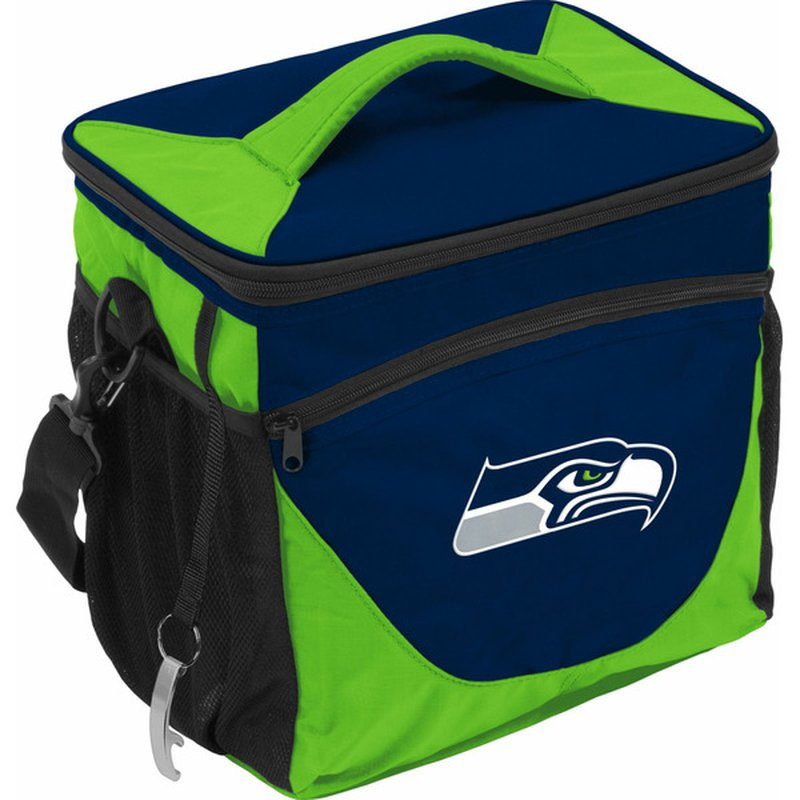 Logo Brands Seattle Seahawks 24 Can Cooler