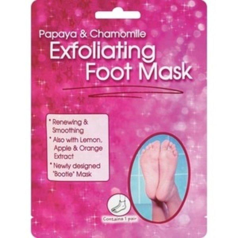 CVS Health Papaya & Chamomile Renewing & Smoothing Exfoliating Foot Mask With Lemon, Apple & Orange Extract