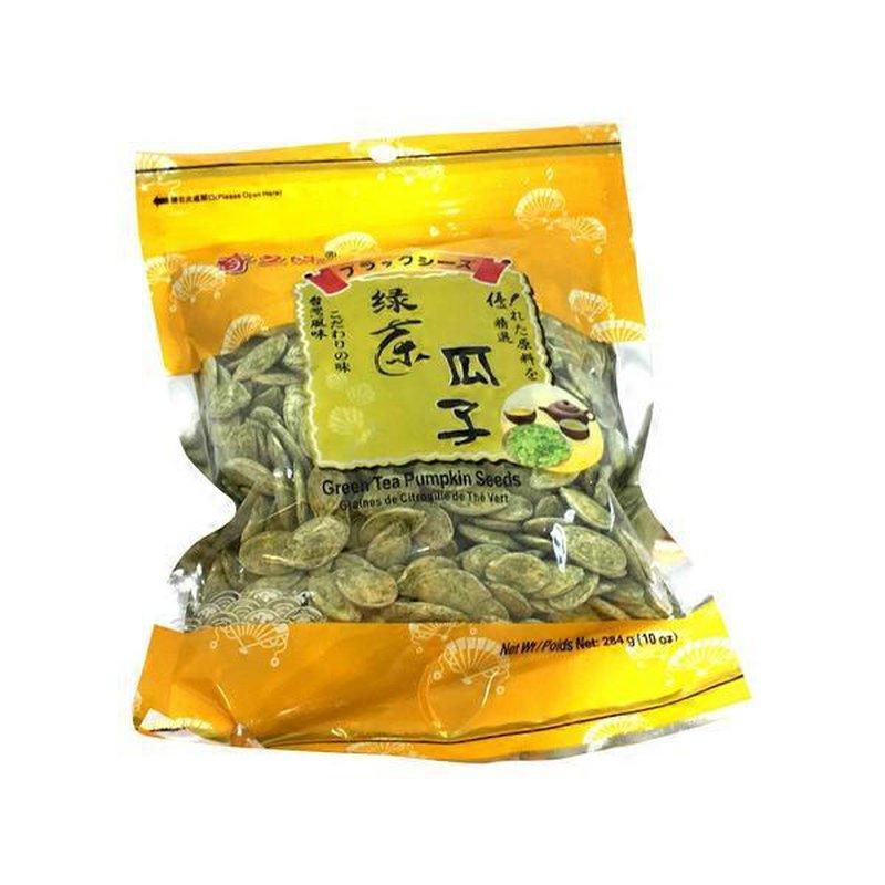 QZW Green Tea Pumpkin Seeds